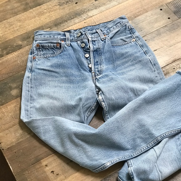 6117962cafb Levi's Jeans | Sale Faded Vintage Levis 501 Rare Size 24 | Poshmark